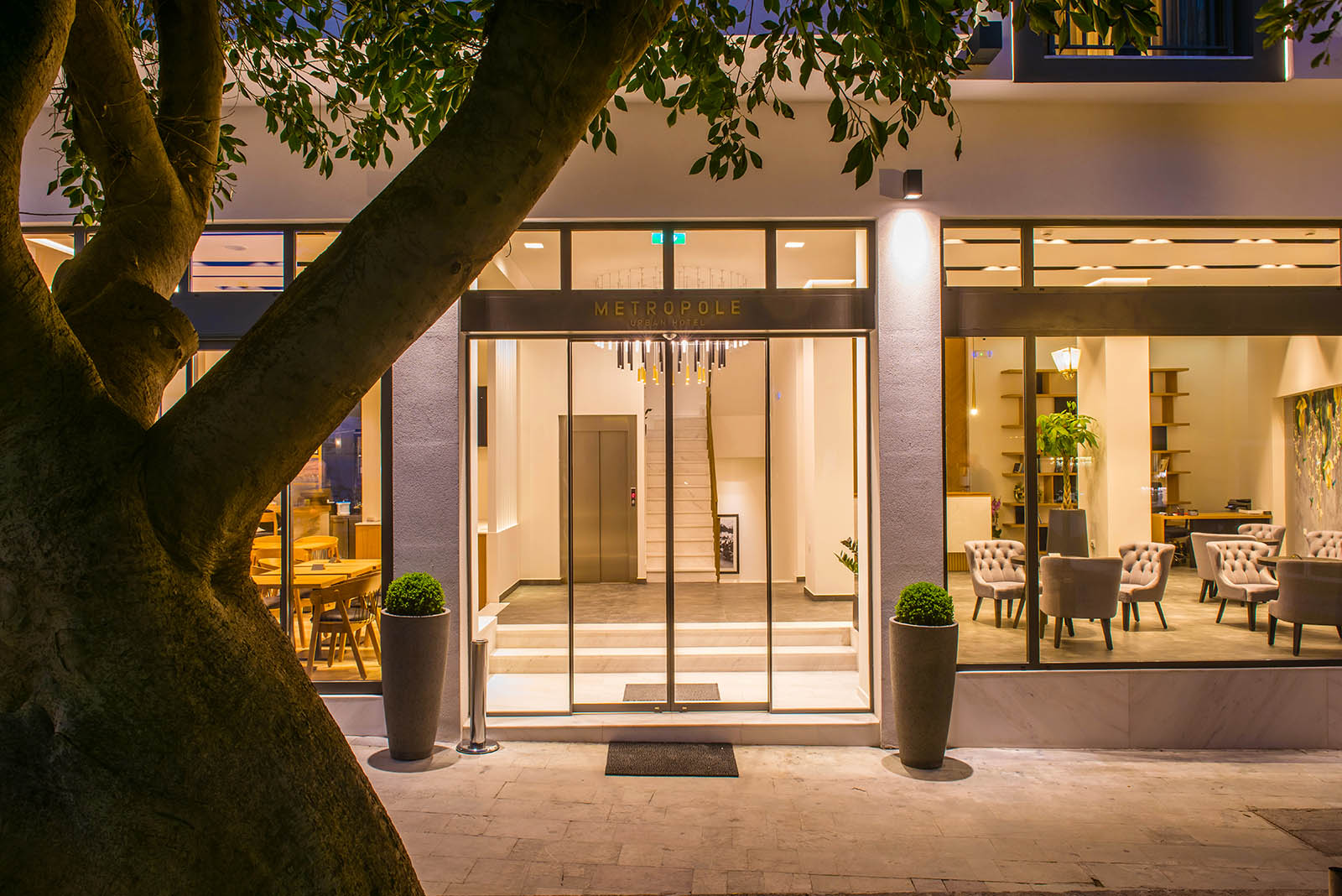 accommodation heraklion - Metropole Urban Hotel