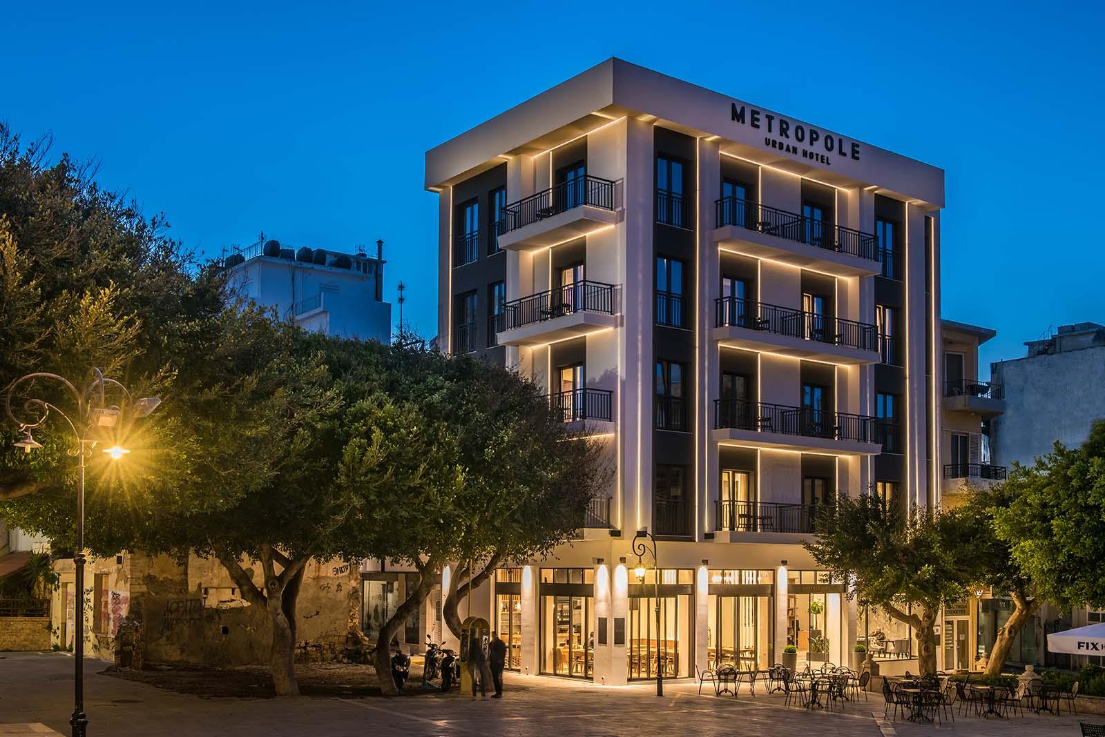 ξενοδοχεια ηρακλειο κεντρο - Metropole Urban Hotel