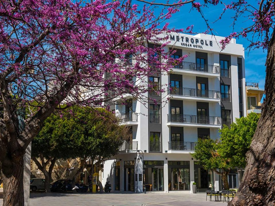 Hotels in Heraklion Crete - Metropole Urban Hotel