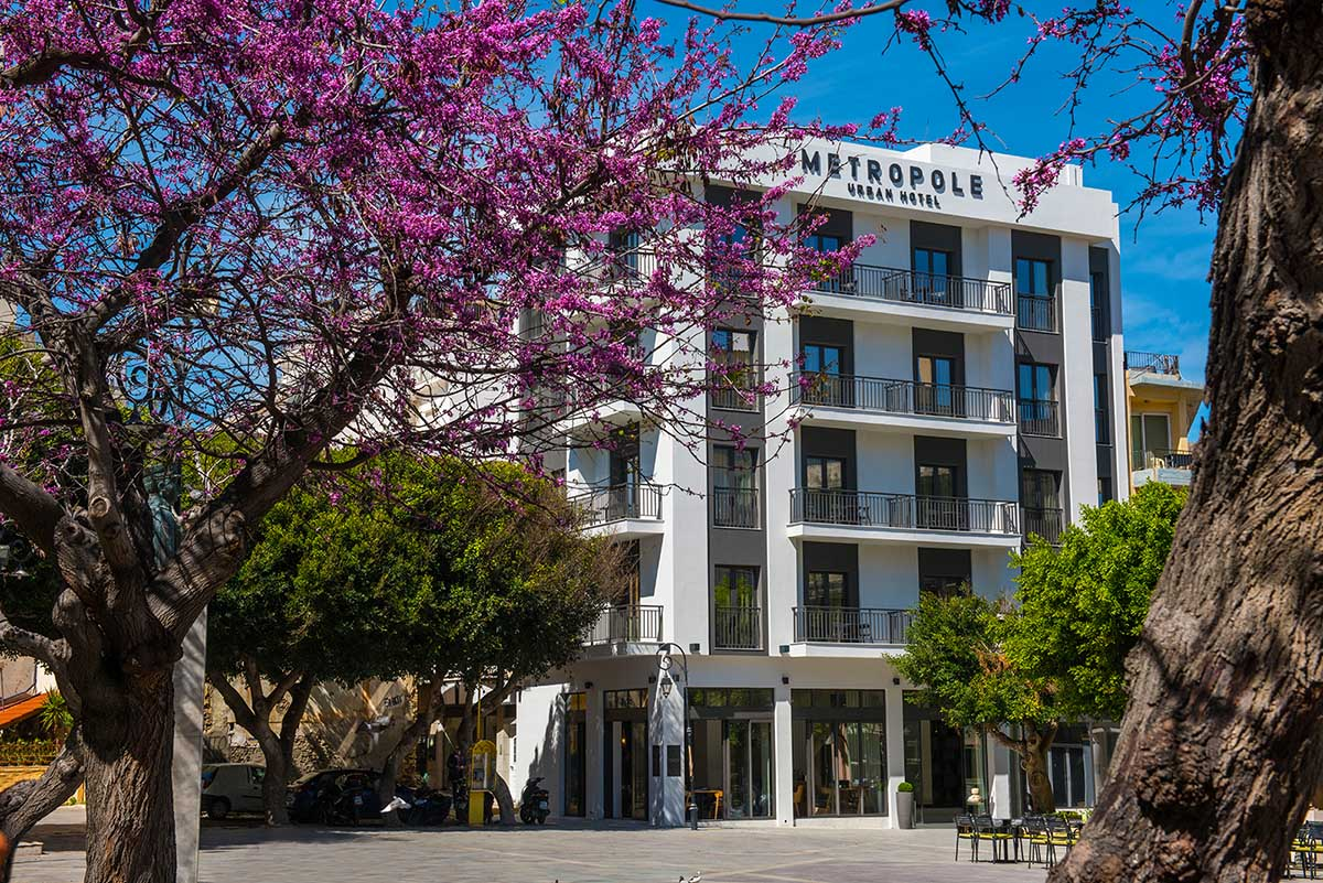Hotels in Heraklion Crete - Metropole Urban Hotel
