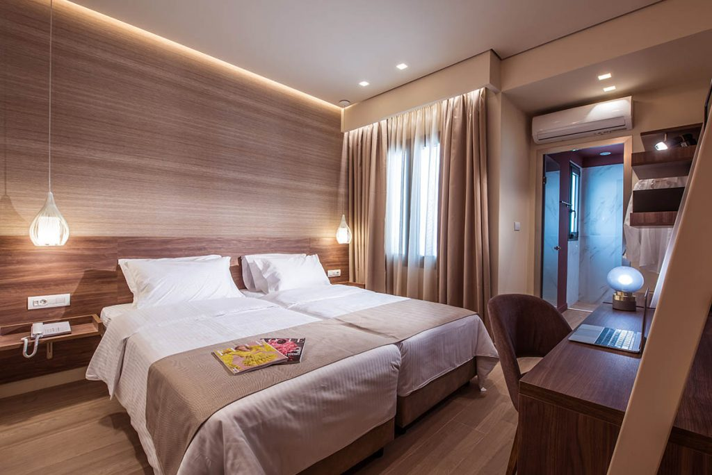 accommodation heraklion - Metropole Urban Hotel